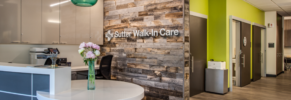 Sutter Walk-In Care Now Open in San Mateo County